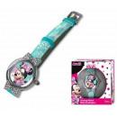 DisneyMinnie zegarek analogowy w pudełku prezentow