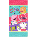 wholesale Towels: Peppa Pig bath towel, beach towel 70 * 140cm