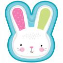 mayorista Regalos y papeleria: Conejo, plato de papel de conejito con 8 piezas 26