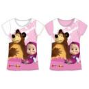 T-shirt per  bambini, superiore Masha e gli anni Or