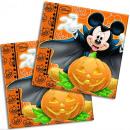 Disney Mickey Halloween Serviettes 20 pièces