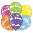 Großhandel Geschenkartikel & Papeterie: Willkommen zu Hause Ballon 6 Ballons
