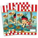 Disney Jake and Neverland Gift Bags 6 pcs