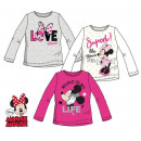 Langärmliges T-Shirt für Kinder DisneyMinnie 3-8 J