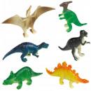 Großhandel Spielzeug: Dinosaur , Dinosaurierfiguren aus Plastik, Set 8