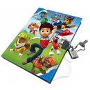 Memorial book, locksmith log Paw Patrol