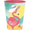 Flamingo, szkło Flamingo, plastik 260 ml