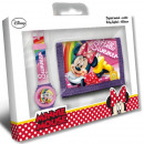 DisneyMinnie Digitaal horloge + portemonnee