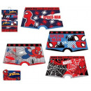 wholesale Underwear: Spiderman kid boxer shorts 2 pieces / pack