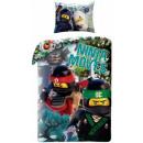 LEGO Ninjago  linnen 140 x 200 cm, 70 x 90 cm
