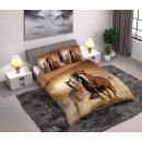 Großhandel Bettwäsche & Matratzen: Pferd, die Pferde Bett 160 × 200cm