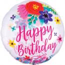 konfetti Happy Birthday Balony foliowe Kula 71 cm