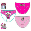 LOL Surprise kids underwear, panties 3 pieces / pa