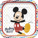 Disney Mickey Awesome Paper Plate with 4 pieces
