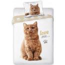 Cutie, The Cat biancheria da letto 140 × 200 cm, 7