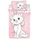 Disney Marie kitten bed linen 140 x 200 cm, 70 x 9