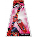 Digital Watch + LED Flashlight Miraculous Ladybug