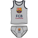 T-shirt + bottom set FCB, FC Barcelona 4-10 years