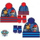 Children's  hats & gloves set Paw Patrol