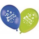 grossiste Cadeaux et papeterie: Happy Birthday  ballons Garçon, ballons 8 pcs