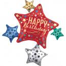 mayorista Regalos y papeleria: Happy Birthday foil globo 88 cm