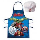 2 częściowy zestaw fartuchów dziecięcych Avengers