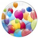 ingrosso Articoli da Regalo & Cartoleria: piatto di carta  Balloon di 10 pezzi di 23 cm