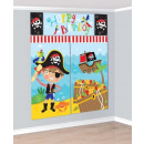 wholesale Wall Tattoos: Pirate, Pirate Wall Decor 5 pieces