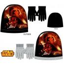 Czapki i rękawiczki dla dzieci zestaw Star Wars