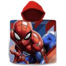 Spiderman , Spiderman asciugamano poncho 60 * 120c