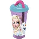 Szívószálas pohár Disney Frozen, Jégvarázs