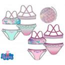 Strój kąpielowy dla dzieci Świnka Peppa, bikini 3-