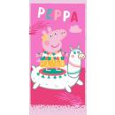 Peppa Schwein Badetuch, Strandtuch 70 * 140cm