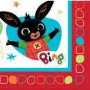 ingrosso Articoli da Regalo & Cartoleria: Tovagliolo Bing 16 pezzi 33 * 33 cm