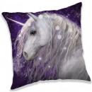 Unicorn pillow, decorative pillow 40 * 40 cm