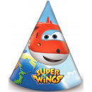 Super Wings Party hat, 6 pieces