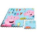Peppa pig sponge puzzle mat 9pcs