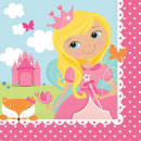 wholesale Licensed Products: Woodland Princess , Forest Princess Napkin