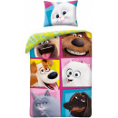 The Secret Life of Pets bed linen 140 × 200cm