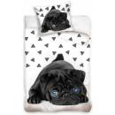 Dog, The Dog bed linen 140 × 200cm, 70 × 80 cm
