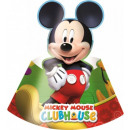 Disney Mickey Parti hat with 6 pcs