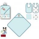 Baby - Lätzchen + Beschwerdepunkte Disney Mickey (