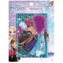 Disney Ice magic notebook, diary + pen