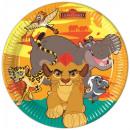 Disney The Lion  King Paper Plate 8-delig 23 cm