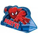 Spiderman , Spiderman Party Invitation 8 pcs