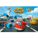 Plate with Super Wings 3D