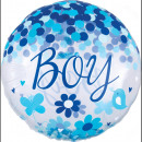 Confetti Baby Boy Gömb Fólia lufi 71 cm