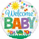 Welcome Baby Fólia lufi 43 cm