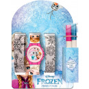 Digital watch + color watch strap Disney frozen