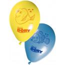 Großhandel Geschenkartikel & Papeterie: Disney Nemo und Dory Ballons, Ballons 8 Stück